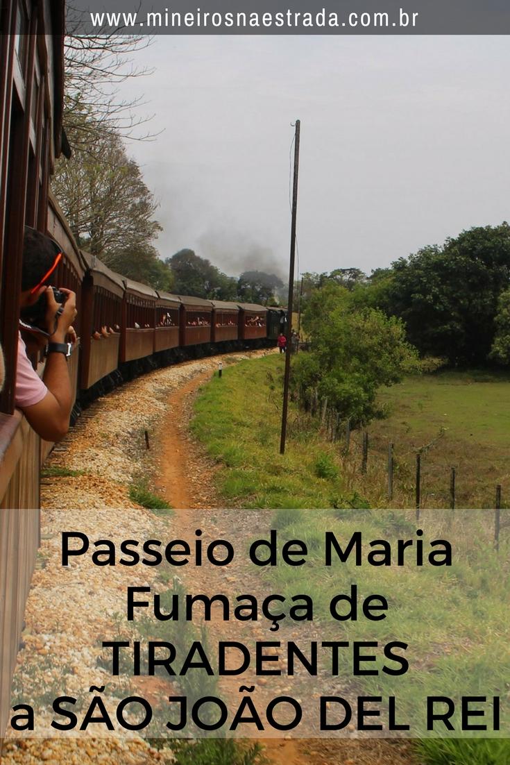 Como é o passeio de Maria Fumaça de Tiradentes a São João del Rei (e vice-versa): a compra de ingressos, a interessante rotunda e o percurso em si.