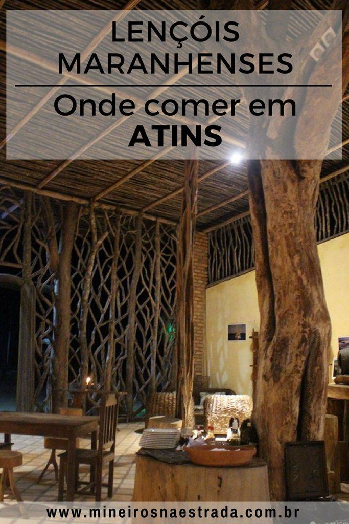 Onde comer em Atins: Três opções de restaurantes no vilarejo mais charmoso dos Lençóis Maranhenses.