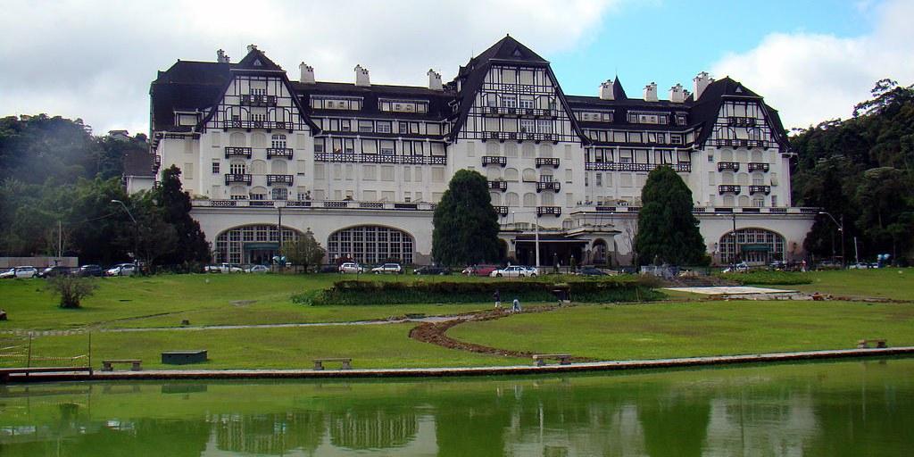 Palácio Quitandinha Petrópolis - Rodrigo Soldon Wikimedia Commons