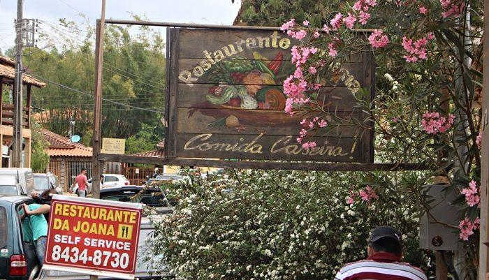 Restaurante da Joana, em Bichinho, distrito de Prados, próximo a Tiradentes.