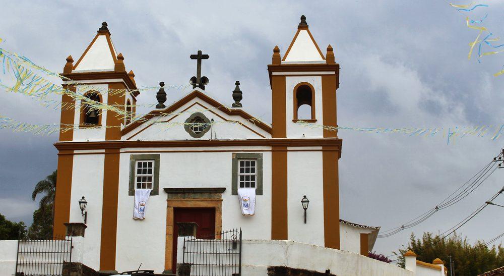 Igreja em Bichinho, distrito de Prados, próximo a Tiradentes.