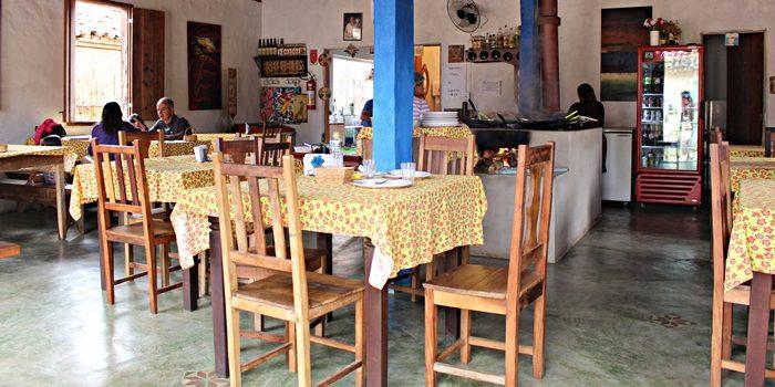 Restaurante da Joana, emBichinho, distrito de Prados, próximo a Tiradentes.
