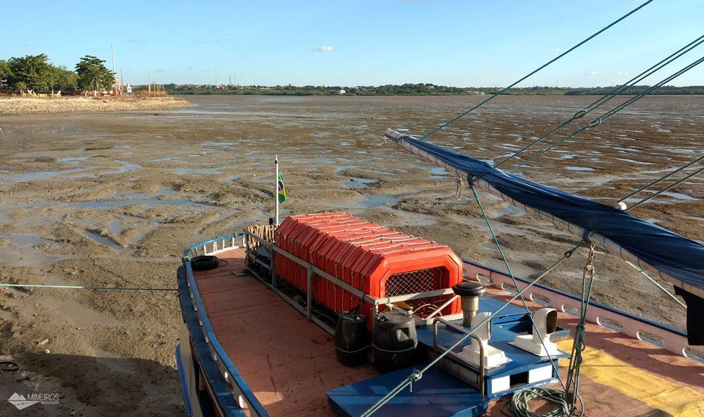 City tour São Luís - Cais do porto na maré baixa