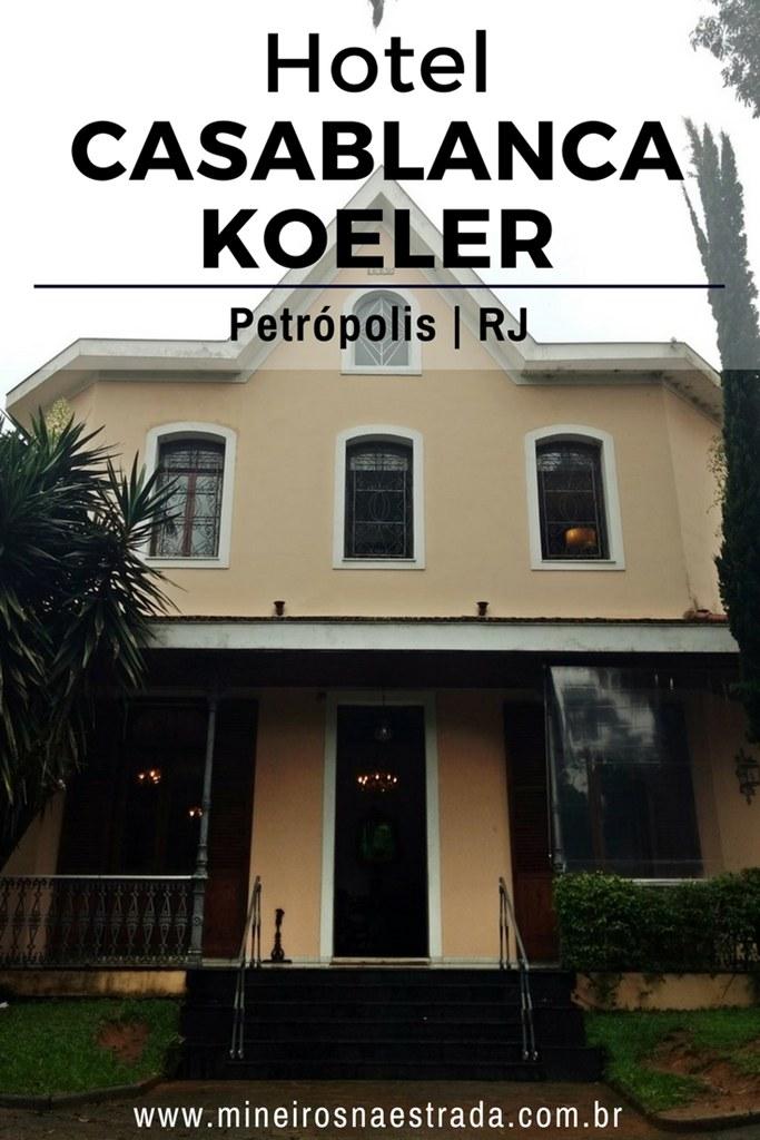 Veja como é se hospedar no Hotel Casablanca Koeler, em uma das principais avenidas do Centro Histórico de Petrópolis.