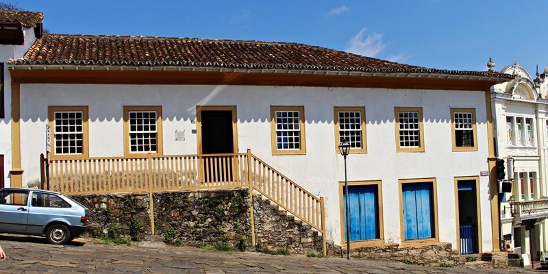 O Museu do Diamante, em Diamantina