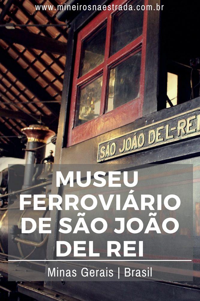 Na Estação Ferroviária de São João del Rei está o Museu Ferroviário, que tem um acervo muito interessante (inclusive está lá a primeira locomotiva adquirida para a ferrovia).