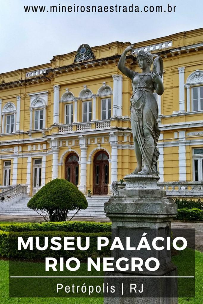 O Palácio Rio Negro foi construído em 1889 e foi, por muitos anos, residência de verão dos Presidentes da República, em Petróolis. Hoje, é um museu gratuito.