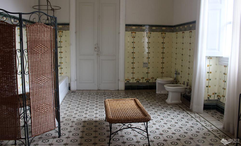 banheiro do Palácio Rio Negro, em Petrópolis