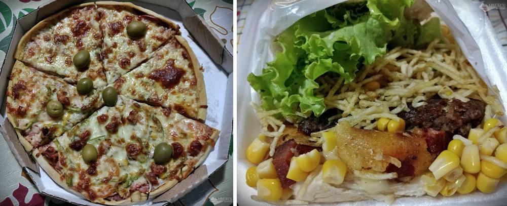 Onde comer em Conceição do Mato Dentro: Milton Quente delivery