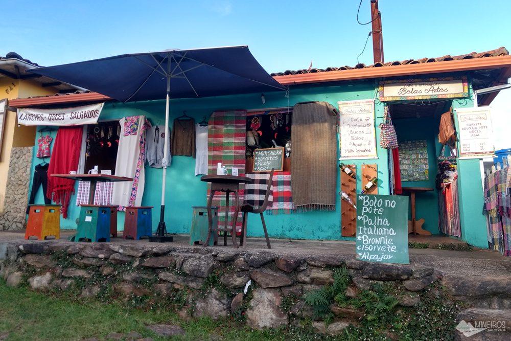 Onde comer em Lavras Novas - Bistrô Belas Artes