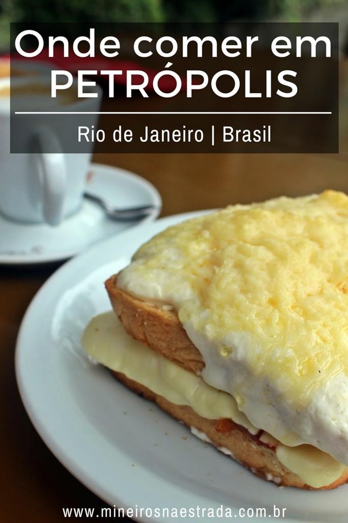 Dicas de onde comer em Petrópolis: restaurantes a la carte e self-service, bistrô, bar, café e delivery,
