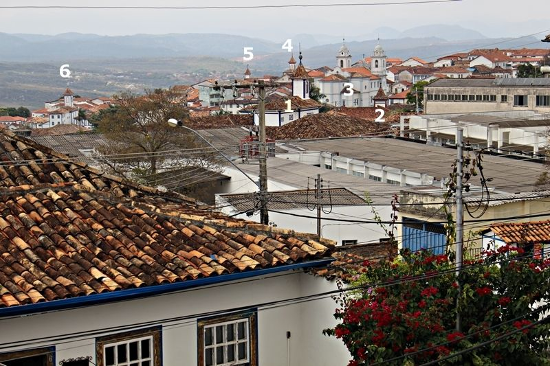 Diamantina vista do Instituto Casa da Glória