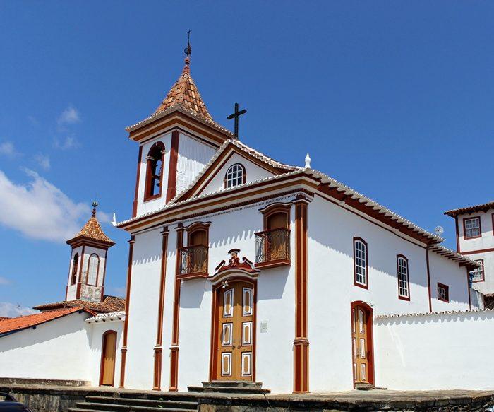 Igreja Nosso Senhor do Bonfim. Diamantina
