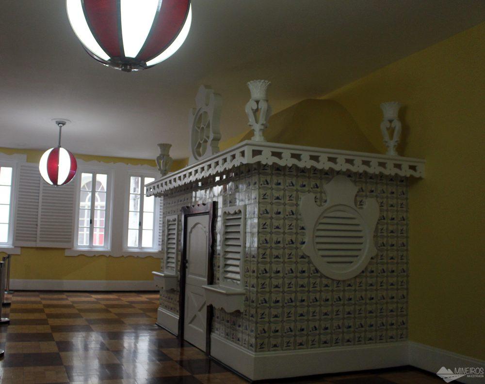 Espaço de recreação infantil - Palácio Quitandinha - Petrópolis