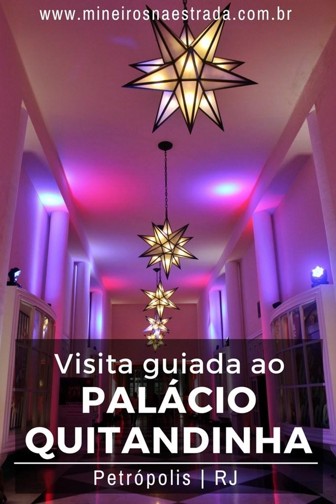 O Palácio Quitandinha foi o maior e mais famoso hotel-cassino das Américas. Hoje é aberto para visitas guiadas.