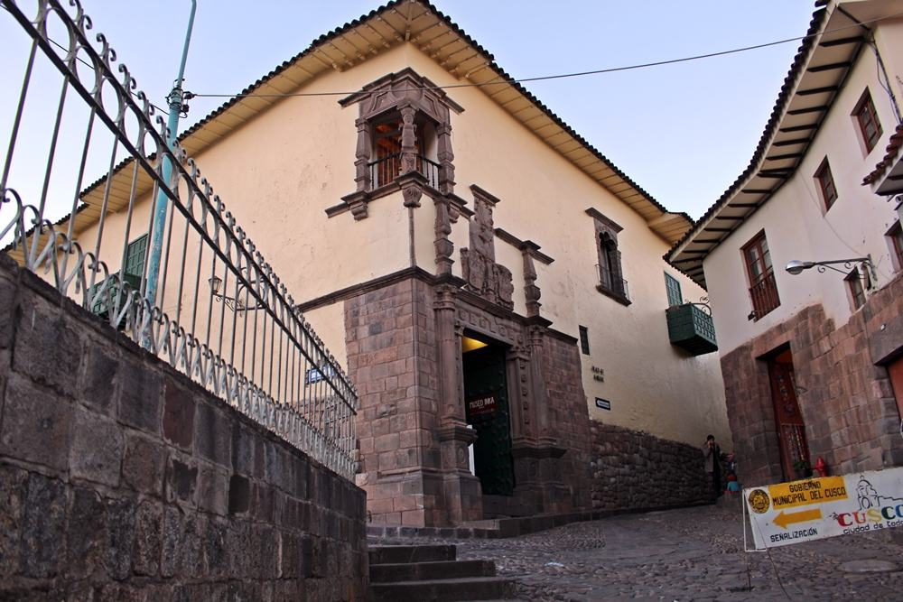 A Casa del Almirante, onde funciona o Museo Inka mantido por uma universidade em Cusco, Peru.