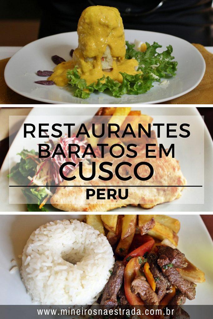 Onde comer em Cusco. Veja aqui alguns restaurantes que servem menu turístico: entrada + prato principal + sobremesa ou bebida por um valor mais baixo. Restaurantes baratos em Cusco.