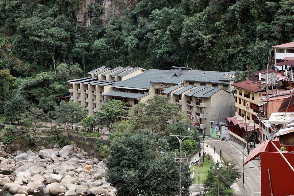 Hotel Sumaq, visto do Inka Wonder