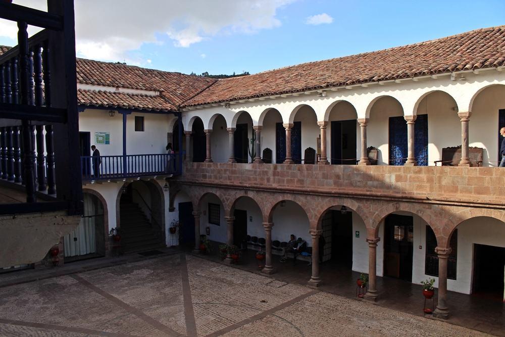 Museu Histórico Regional Inca Garcilaso, em Cusco. A casa foi moradia de Garcilaso de la Vega, que era filho de um espanhol com uma princesa inca.