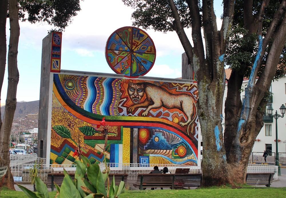 Avenida El Sol - mercado de artesanato cusco