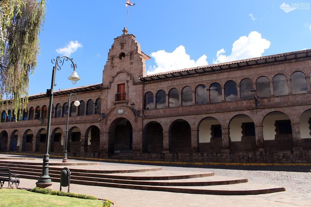 Prédio do Gobierno Municipal de Cusco, na Plaza Regocijo