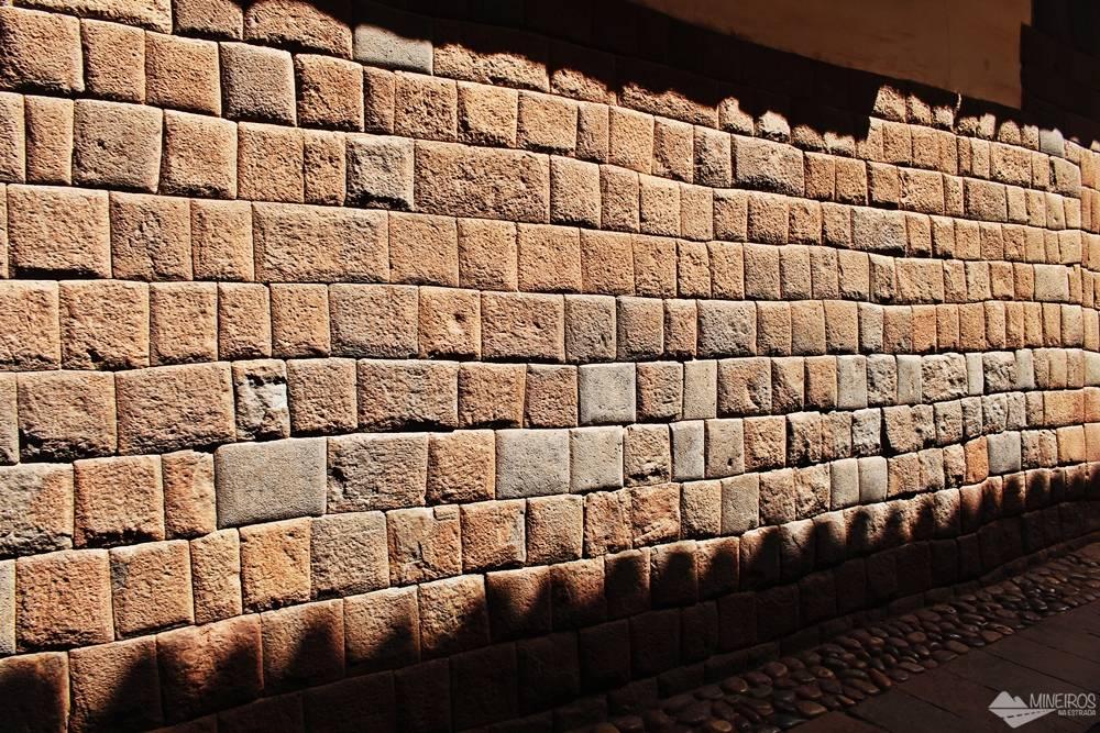 Encaixes perfeitos ruas de Cusco Peru