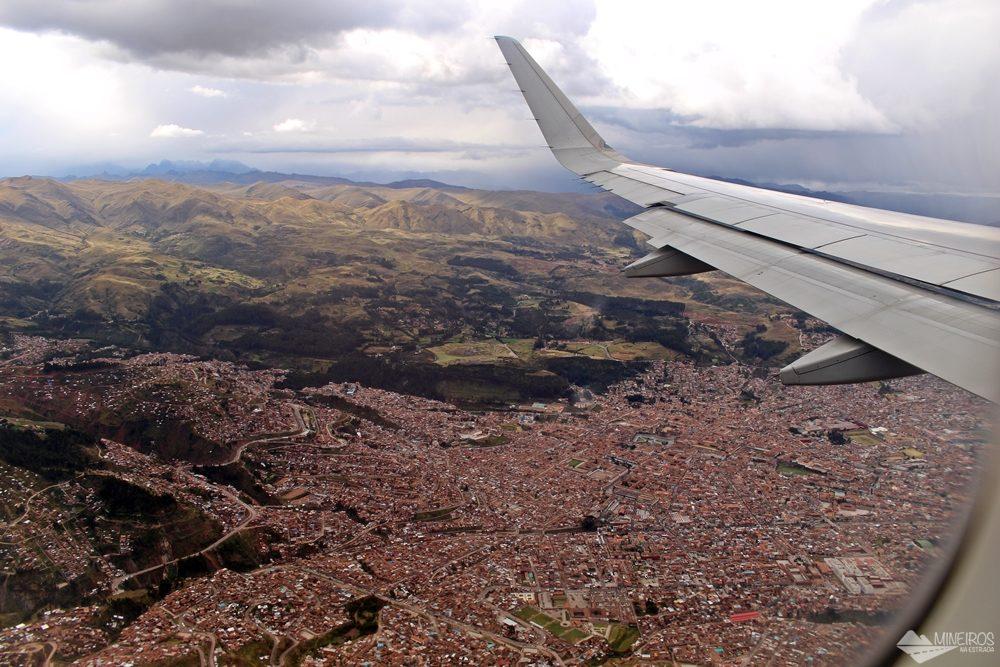Sobrevoando Cusco Peru