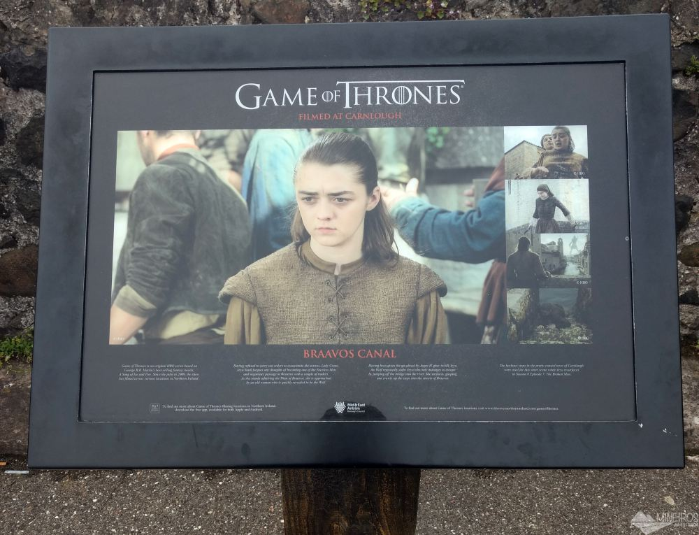 Carnlough Village - Game of Thrones Tour
