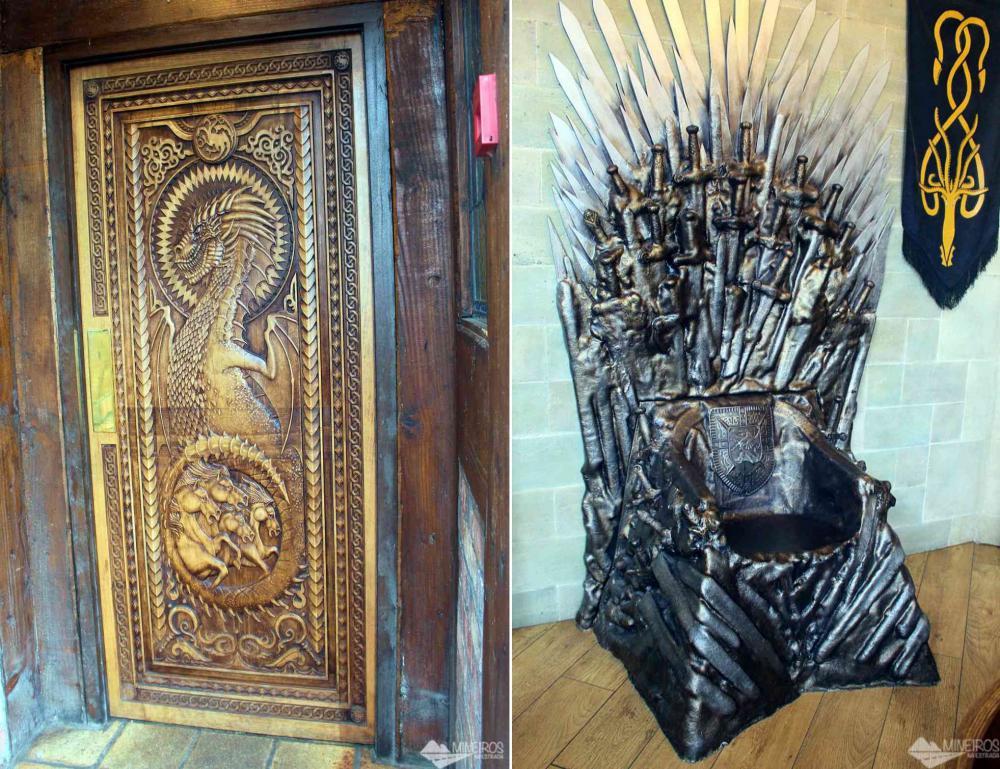 Porta número 6 Game of Thrones