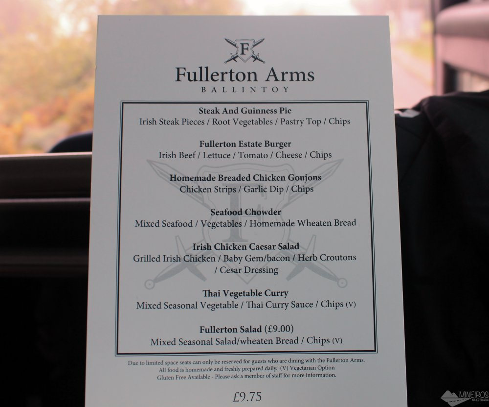 Furlleton Arms - Game of Thrones Tour