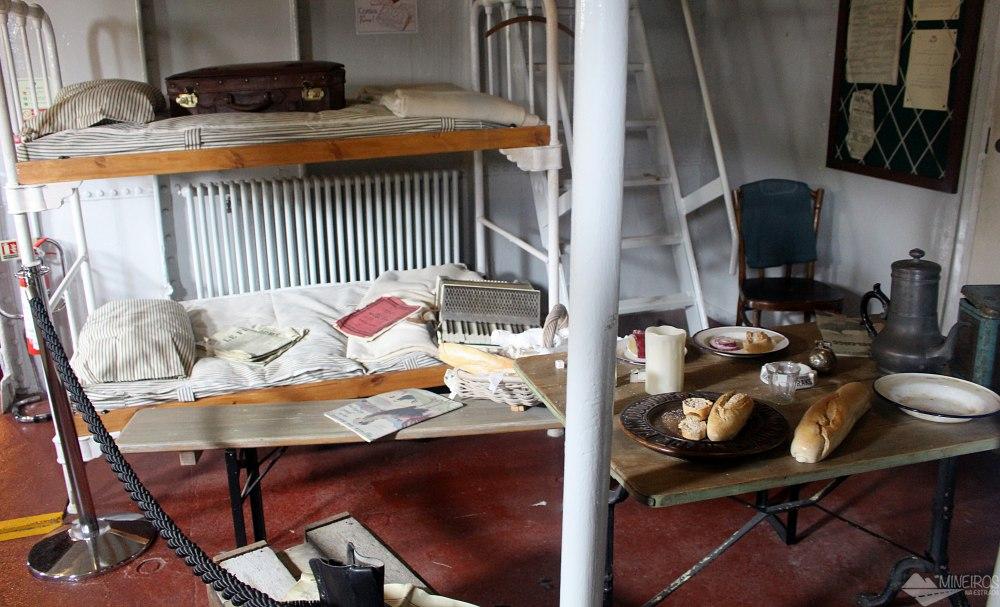 O SS Nomadic foi construído na mesma época do Titanic e é conhecido como sua irmã menor. Hoje é um navio-museu em Belfast, na Irlanda do Norte.