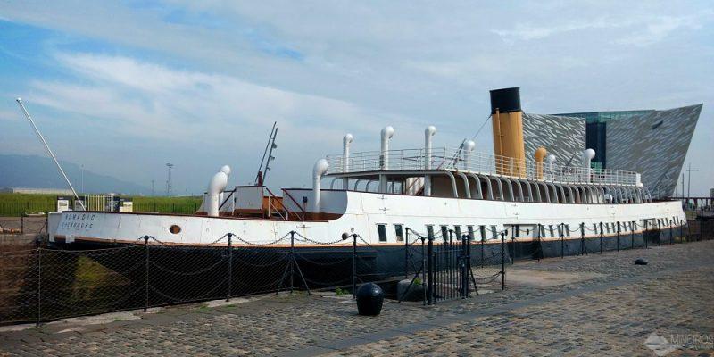 8 curiosidades sobre o SS Nomadic, a irmã mais nova do Titanic