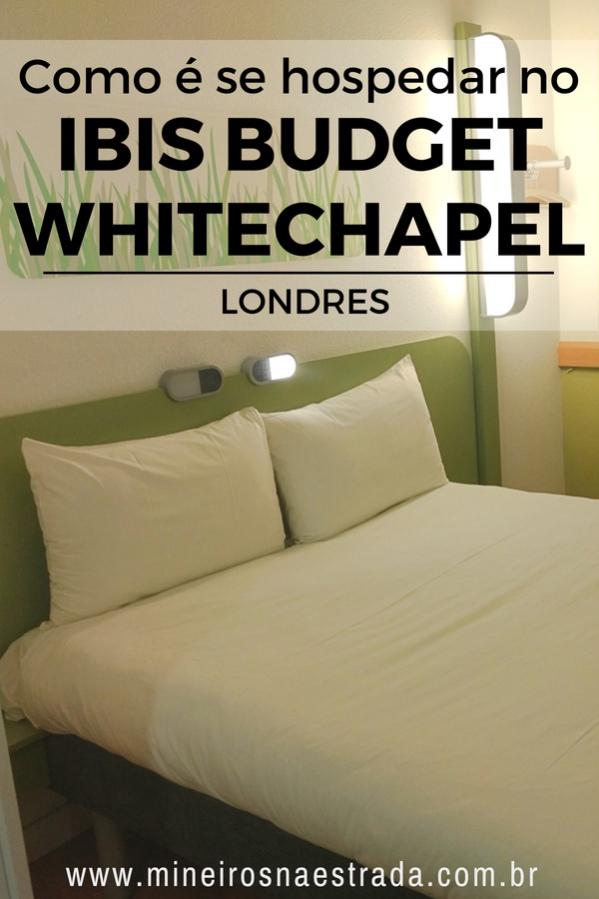 Review do Ibis Budget Whitechapel, uma opção de hospedagem com ótima relação custo-benefício em Londres, na Inglaterra.