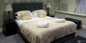 Onde ficar em Edimburgo: Quarto com cozinha no Palmerston Suites