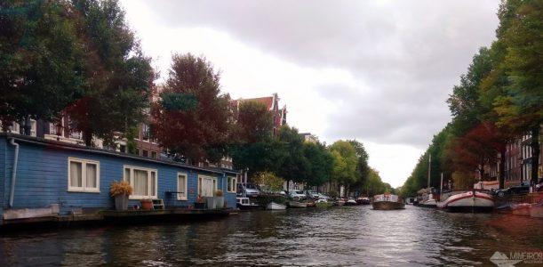 Holanda: passeio de barco pelos canais de Amsterdam