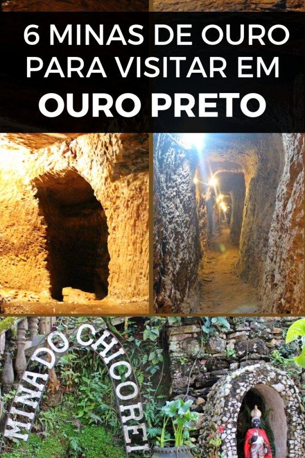 Como uma das principais cidades do Ciclo do Ouro, Ouro Preto é repleta de minas de ouro. Veja aqui 6 opções para conhecer.