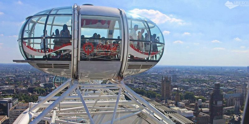 Londres: como visitar a London Eye