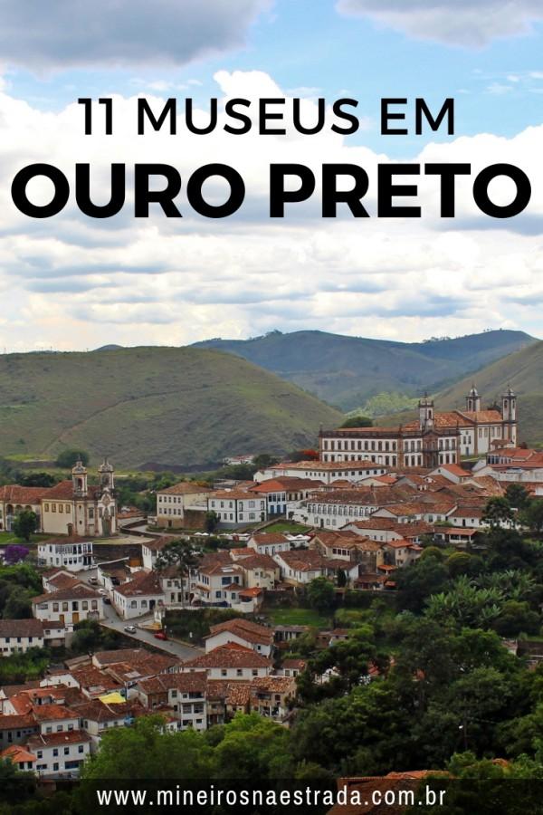 Tudo bem que a cidade por si só já é incrível, mas, se você quer uma experiência ainda mais completa, veja aqui 11 museus em Ouro Preto.