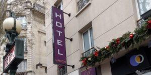 Hotel de L'Union: hotel barato e próximo ao metrô, em Paris