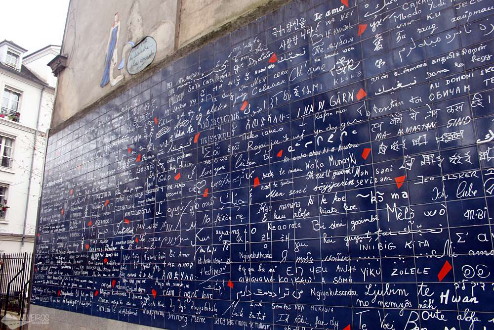 Muro do Amor Paris