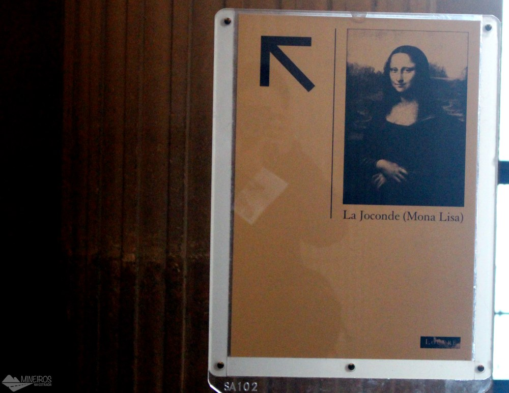 Placas Mona Lisa Louvre