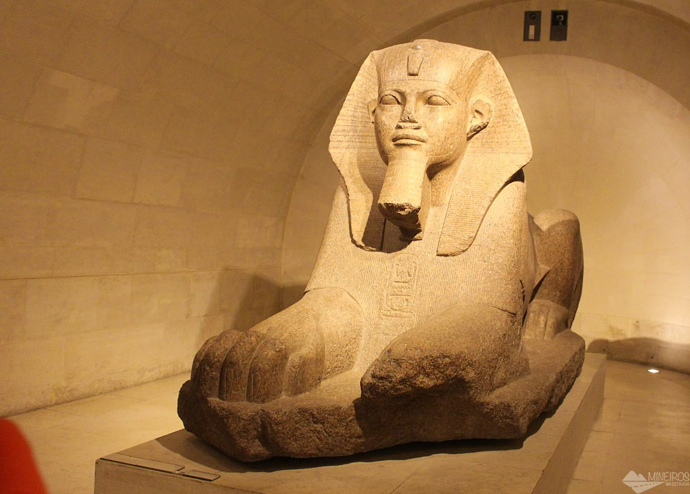 Museu do Louvre - antiguidades egípcias