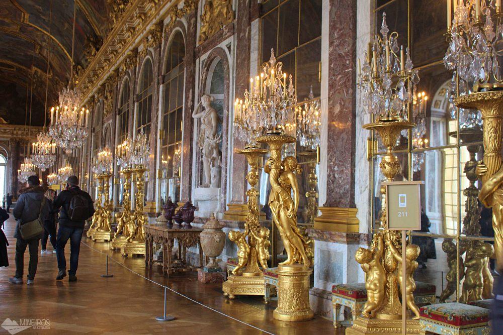 Sala dos Espelhos, Palácio de Versalhes
