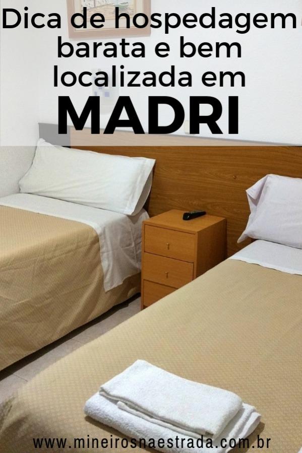 Hostal Lido é uma hospedagem barata, com quartos privativos e bem localizada, a poucos metros da Puerta del Sol, no centro de Madri.