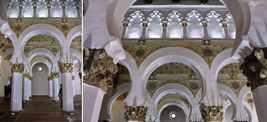 Sinagoga de Santa María de la Blanca, em Toledo, Espanha