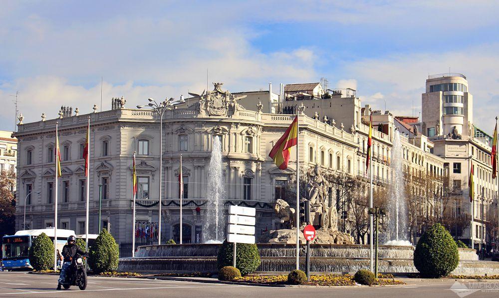 Fonte das Cibelles, Madri