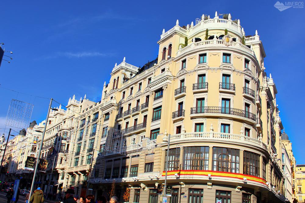 Gran Via, Madri