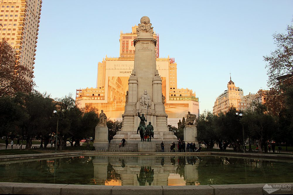 Praça Espanha, Madri