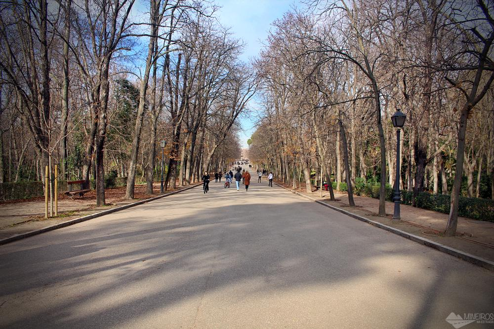 Parque El Retiro, Madri