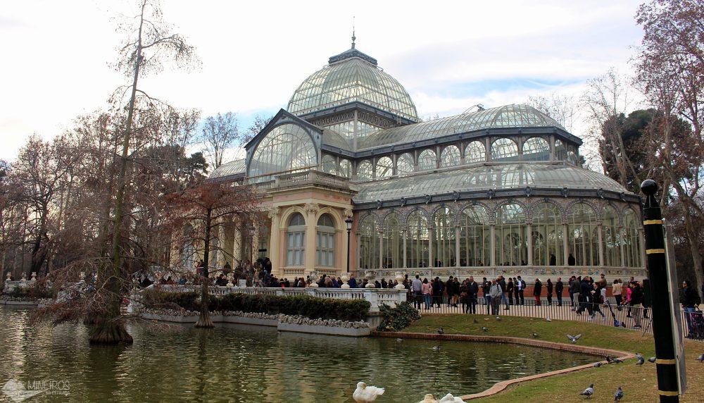 Palácio de Cristal, no Parque El Retiro